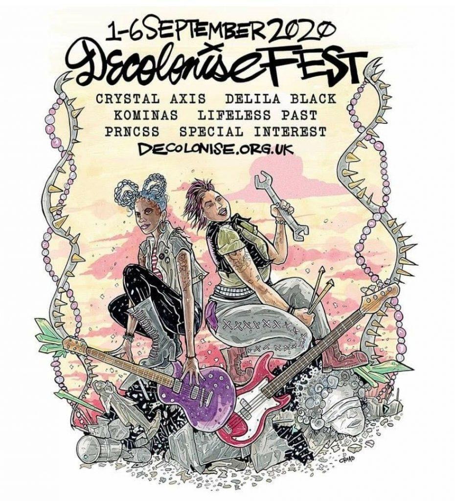 Decolonise Fest starts tonight!!!!